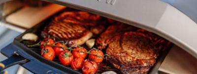 Идеальный стейк, приготовленный на огне
